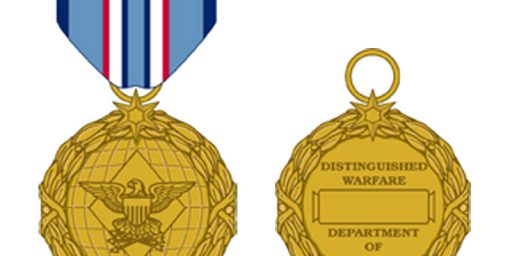 Distinguished Warfare Medal for Armchair Warriors