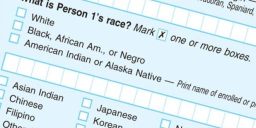 Census to Stop Counting Negroes