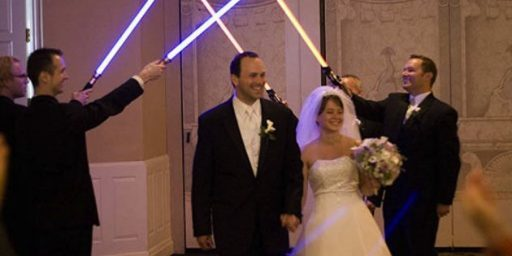 Scotland May Allow Jedi Weddings