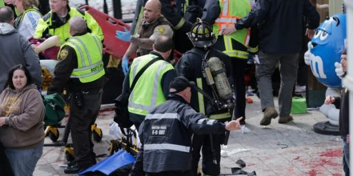 FBI Review Says That Boston Bombing Could Not Have Been Prevented
