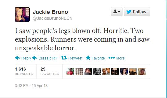 Boston Tweet