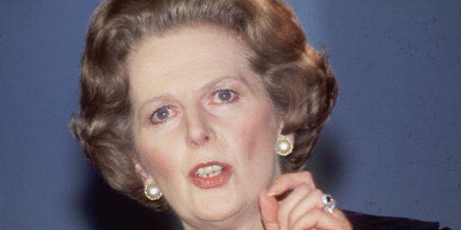 Margaret Thatcher Dead At 87