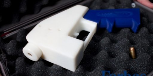State Department Goes After Maker Of 3D-Printed Gun