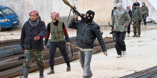 "President Obama's Misplaced Trust In The ""Moderate"" Syrian Rebels"