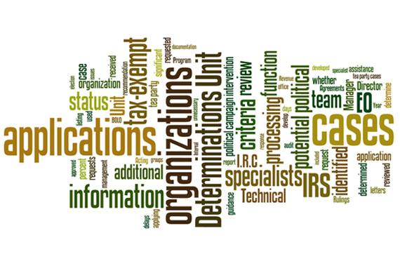 TIGTA IRS Audit Wordle