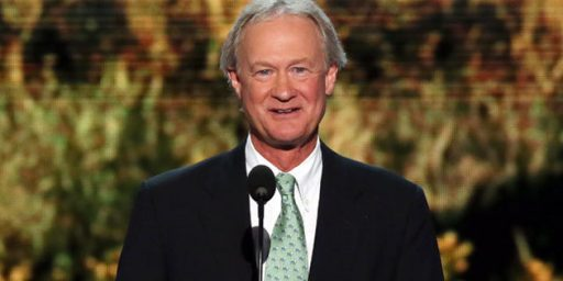 Lincoln Chafee Officially a Democrat