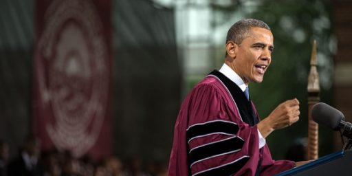 Only Obama Can Go To Morehouse
