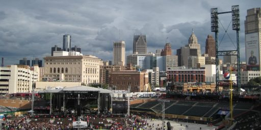 Detroit's Pre-Bankruptcy Negotiating Game May Not Be Working.