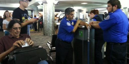 TSA Tries To Confiscate Chewbacca's Light Saber Shaped Cane
