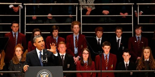 Obama's Comments On Education In Northern Ireland Create Outrage On The Right