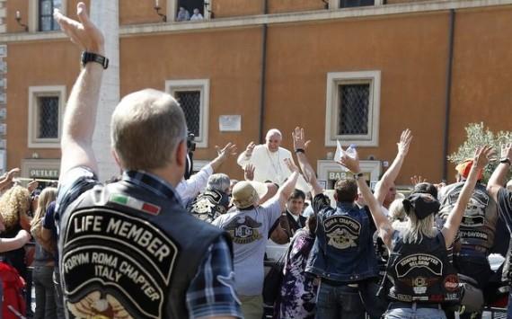 Pope Francis Harley Davidson