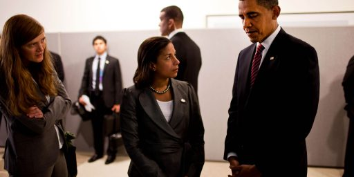 Susan Rice, Samantha Power, And Syria