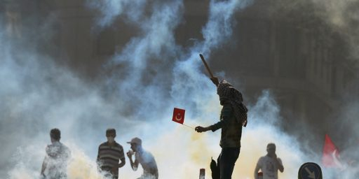 Turkey Protests Turn Violent