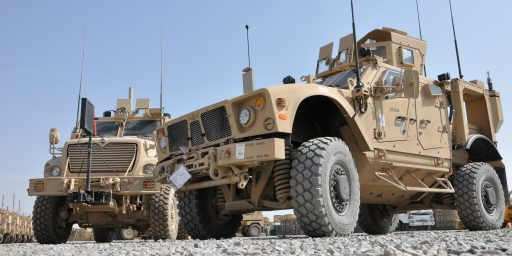 U.S. To Scrap Some Military Equipment Rather Than Take It Out Of Afghanistan
