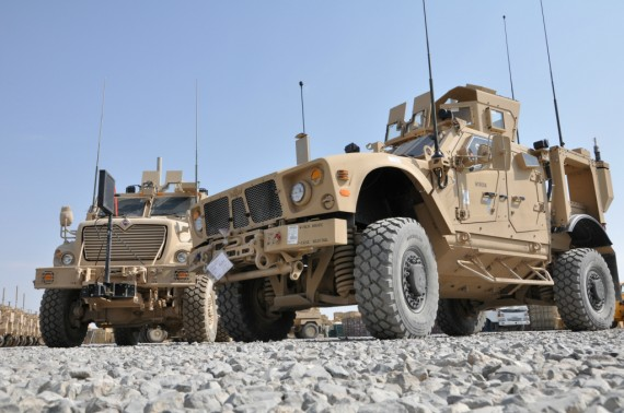 US Army MRAP
