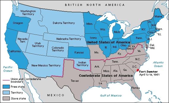 USA CSA Map