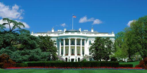 Fox, Squirrels Having A Field Day At The White House Amid Shutdown