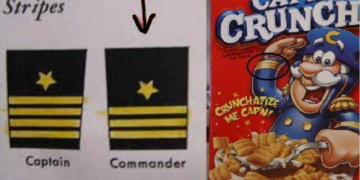Cap'n Crunch Not A Captain, May Be French