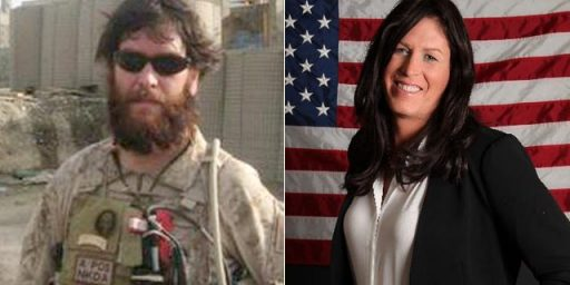 "Kristin Beck, formerly Chris, penned her story of going from an elite Navy SEAL to a woman in the book ""Warrior Princess."""