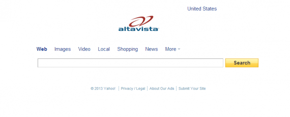AltaVista Screen Shot