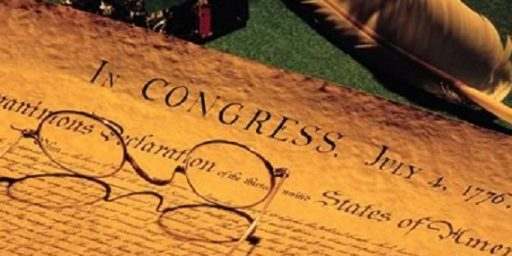 A Typo in the Declaration of Independence?