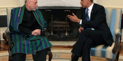 "Frustration With Karzai Pushing Obama Toward ""Zero Option"" In Afghanistan"