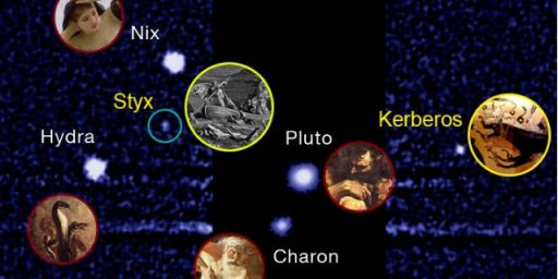 Effort To Name Moon Of Pluto 'Vulcan' Fails, Captain Kirk Not Pleased