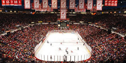 Despite Bankruptcy, Detroit Subsidizing New Red Wings Stadium