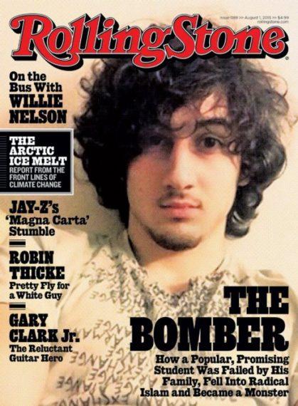 Rolling Stone Tsarnaev cover