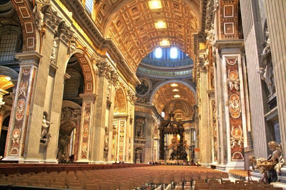 Saint-Peters-Basilica-interior