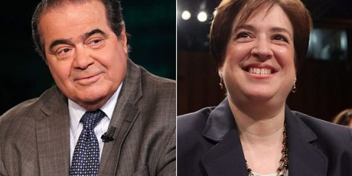 Elena Kagan And Antonin Scalia: Hunting Buddies