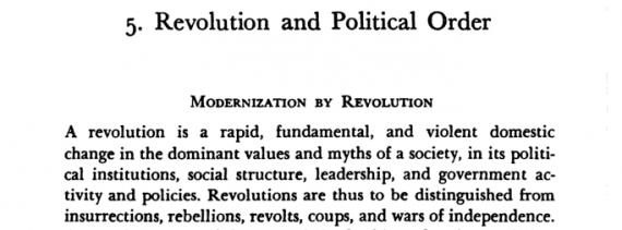 huntington-revolutions