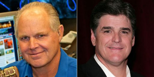 Limbaugh and Hannity Off Cumulus Stations?