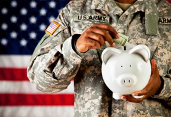 military-pay-piggy-bank
