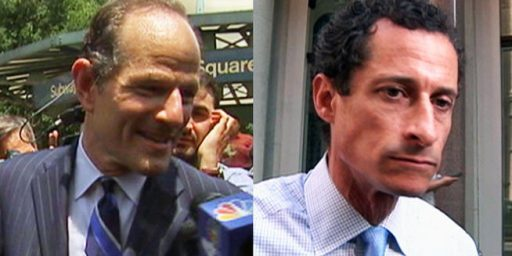 Weiner, Spitzer Lead In Latest NYC Polls