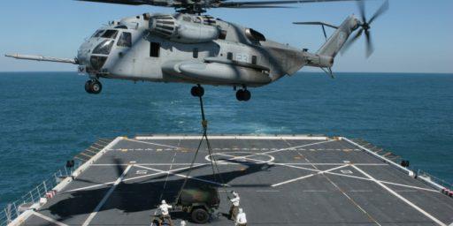 US Navy Ships Deployed Near Egypt