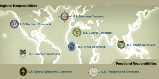 Defense Department Weighing COCOM Realignment and Rebrand