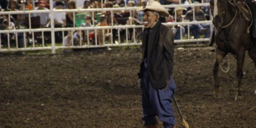 Quick Thoughts On Political Satire and Rodeo Clowns