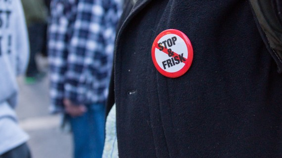 Stop And Frisk Button