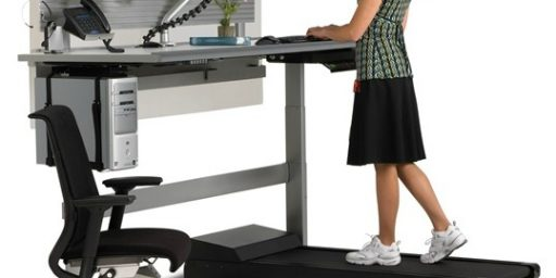 Standing While Working