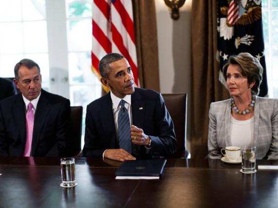 Boehner Obama Pelosi