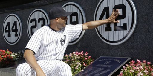 New York Yankees Bid Farewell To A Legend