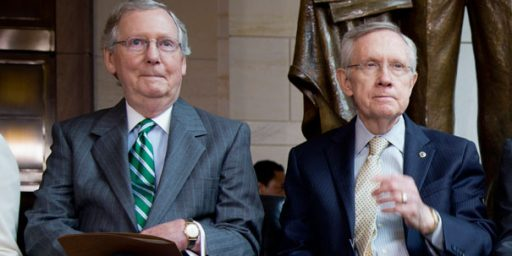 Reid/McConnell Talks Stalemated As Democrats Push For Sequester Changes
