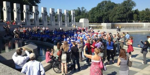 Park Service Relents On Honor Flight Visits To National Mall