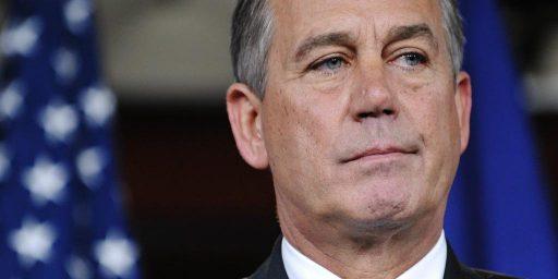 No, Boehner Isn't Going To Lose His Job As Speaker