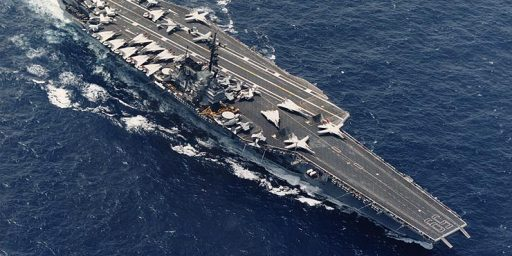 U.S.S. Forrestal, First U.S. Supercarrier, Sold For One Penny