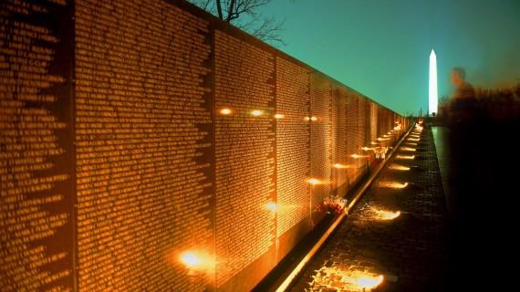 Vietnam War Memorial Night