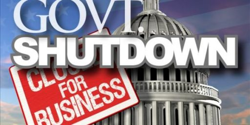 The Government Shuts Down And Washington Plays The Blame Game