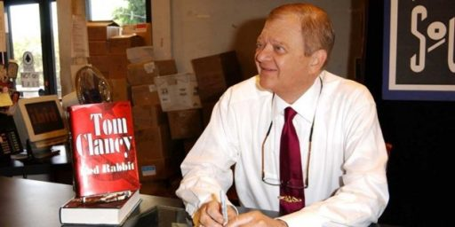 Tom Clancy Dead at 66