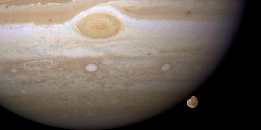 Jupiter's Eternal Red Spot?